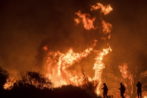 미국 캘리포니아 산불…사망자 시신 처음으로 확인