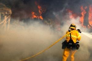 LA 산불 130㎞ 강풍 타고 확산…서울면적 80% 태워