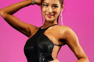 [포토] 송보배, 日 피트니스 대회 휩쓴 '예쁜 몸매'