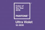 색채기업 팬톤이 선정한 2018년 컬러 '울트라 바이올…