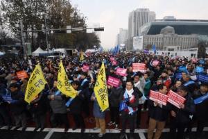 [서울포토] 문재인 케어 및 한의사 의료기기 허용 저지 집회