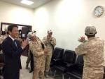 임종석 비서실장, UAE 파병…