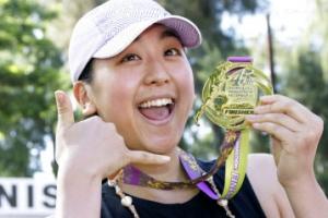 '김연아 라이벌' 피겨스타 아사다 마오, 마라톤 완주…4시간 34분 13초