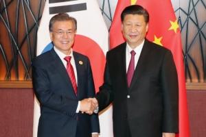문 대통령 오늘 시진핑 주석과 정상회담…'사드 문제' 언급될까