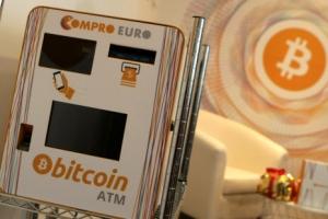 [포토] 비트코인 광풍…유럽에 설치된 '비트코인 ATM'