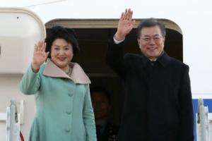 문 대통령, 오늘 중국 국빈방문…베이징으로 출국, 3박4일 일정 시작