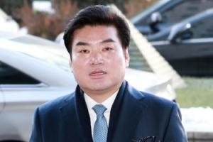 """'정치자금법 위반' 원유철 검찰 출석…""""성실히 소명하겠다"""""""