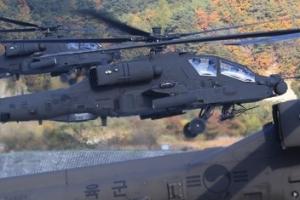육군 아파치 헬기, 공대공 '스팅어미사일' 첫 실사격 훈련
