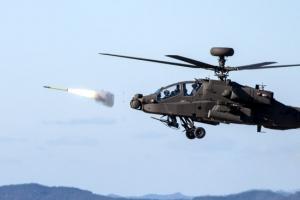 [포토] '미사일 발사!!!' 육군 아파치헬기 '스팅어'