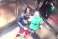 [글로벌 사건X파일] 엘리베이터 문 닫히자 돌변…아기…