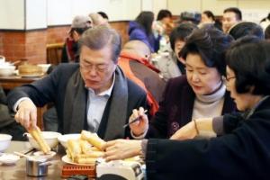 중국 식당에 '문재인 세트' 출시…가격은 5700원