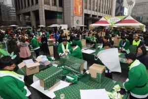 소외층 아동 1000명 찾아갈 크리스마스 선물