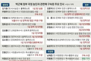 檢, 국정농단 수사 탄력…조윤선·최경환 구속될까