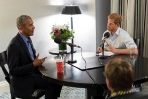 해리 英왕자, BBC 객원 진행자로 오바마 인터뷰