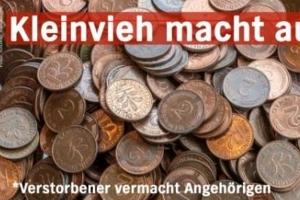 유산으로 받은 동전 2.5t, 은행서 6개월 세니 120만 개