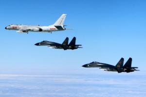 中군용기 5대, 이어도 서남방 KADIZ 침범…공군 긴급출격