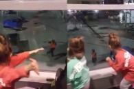 [별별영상] 항공요원과 아이들의 흥겨운 댄스