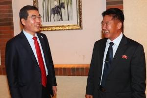 양기대 광명시장, '유라시아 평화 철도' 개발관련 북한에 개성방문 제안