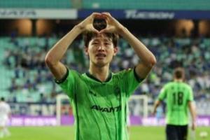 [하프타임] K리그 MVP 이재성, 모비스 경기 시투