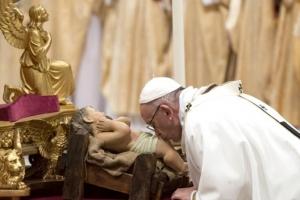 """교황 """"예수도 이방인의 아들"""""""