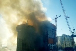 광교 공사장 화재도 불꽃작업 중 발생...안전불감증 약 없나