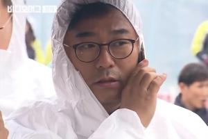 """권석창 의원, 제천 참사 현장서 """"뭘 감출 게 있다고 못들어가게 하냐""""…출입 논란"""