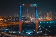두바이에 건설된 세계 최대 액자 모양 전망대