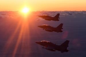 [포토] 국산전투기 FA-50, 연말연시 군사대비태세 '이상무'