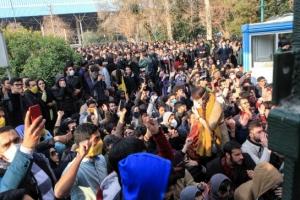 """""""하메네이에게 죽음을""""…이란 전역서 반정부·반체제 시위"""