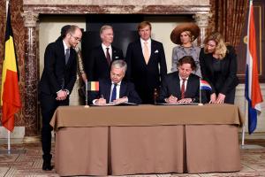 총성 없이 국경 바꾼 벨기에와 네덜란드