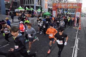 [영상] 2018 서울신문 해피뉴런 마라톤대회 개최…2018명 참가해 뜨거운 열기
