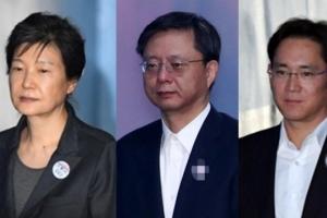 박근혜·우병우·이재용 새해 첫날 구치소 떡국·닭백숙 반마리