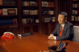 시진핑 책상에 놓인 붉은색 전화기의 정체는