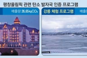[테마로 풀어보는 성화 봉송] '탄소 제로' 향해 뛰는 평창 불꽃