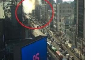 """[속보] 홍대 화재 """"서교동사거리 인근 공사장서 불"""""""