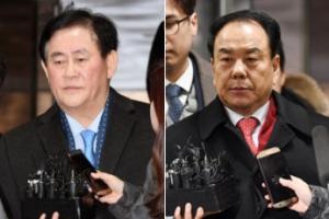 '뇌물혐의' 최경환·이우현, 구속 첫날 검찰 소환조사 거부