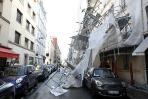 유럽 휩쓴 태풍… 프랑스 20만 가구 등 곳곳 정전 피해