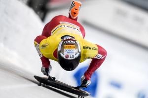 스켈레톤 세계랭킹 1위 윤성빈, 6차 월드컵도 금메달