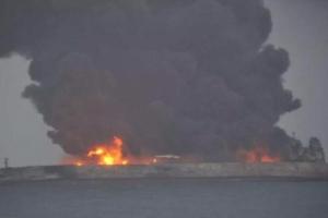 한국 오던 유조선, 中해역서 화물선과 충돌… 32명 실종
