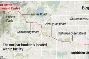 中 지도부용 핵 벙커 베이징서 20㎞ 거리…100만명 식수 확보