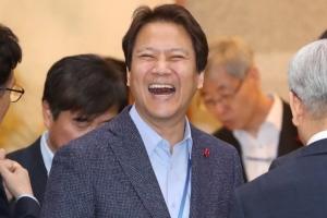 [서울포토] 활짝 웃는 임종석 비서실장