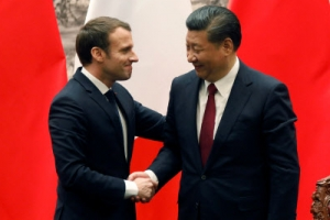 시진핑·마크롱 정상회담… 전략적 동반자 관계 강화
