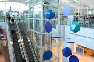 [포토] '미술관이야 공항이야'… 개항 앞둔 인천공항 제2여객터미널
