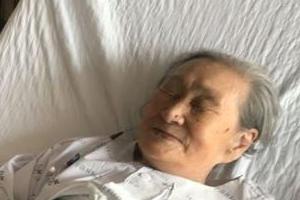 한·일 위안부 합의 후속 조치 들은 김복동 할머니 반응