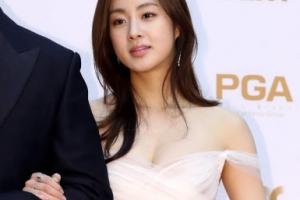 [포토] 강소라, 글래머 몸매 드러낸 시스루 드레스 '아찔'