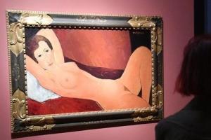 작년 伊 모딜리아니展 그림 20점 가짜로 드러나