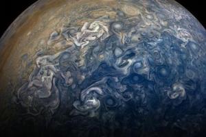 [우주를 보다] 우주에 걸린 추상화… 가스 행성  '목성의 민낯 '