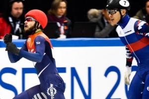 빅토르 안 크네흐트에 포토피니시 끝에 유럽선수권 500m 금 양보