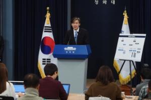 [서울포토] 靑, 검·경·국정원 등 '권력기관 개혁방안' 발표
