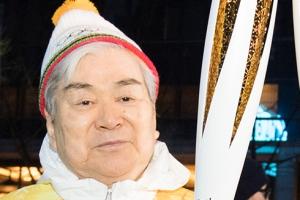 '한진그룹 부자(父子)' 조양호 회장-조원태 사장, 평창 성화 봉송 참여
